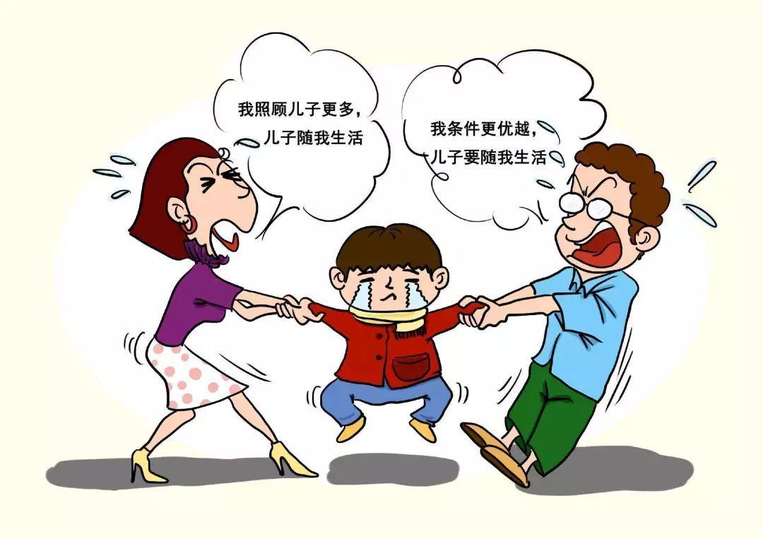 离婚后虽然抚养权约定归男方,孩子却一直随女方生活,女方要求变更获准许